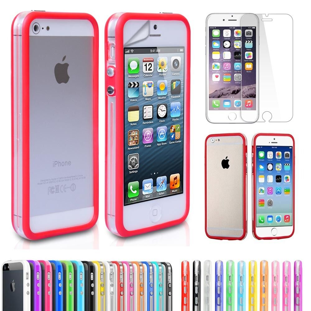 iphone 4s 4g phone cover smart slim bumper gel rubber for apple 10899