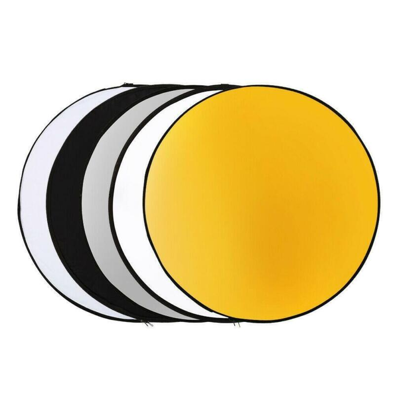 """43"""" Camera 5-in-1 Portable Multi Photo Collapsible Light Photography Reflector"""