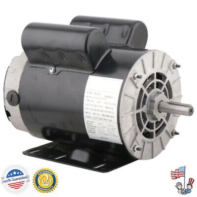 3 Hp Sinlge Phase 3450rpm Electric Air Compressor Duty Motor 56 Frame 58 Shaft