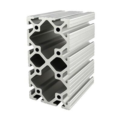 "80//20 T Slot 10 Series 2/"" x .5/"" Aluminum Extrusion 2012 x 60/"" Long N"