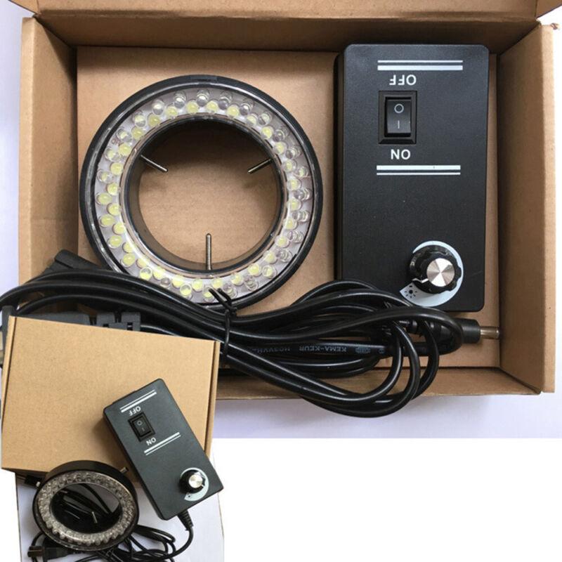 60-LED Adjustable Ring Light illuminator Lamp For STEREO ZOOM Microscope