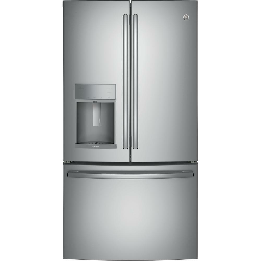 GE Adora 27.8 cu ft French Door Refrigerator Stainless Steel