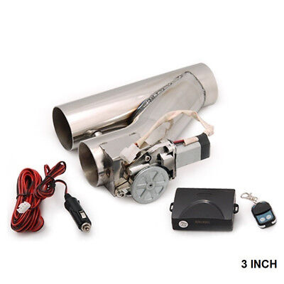 """3"""" Universal Electric EXhaust Cutout Valve Y-Pipe W/ Remote V2 For FORD MUSTANG"""