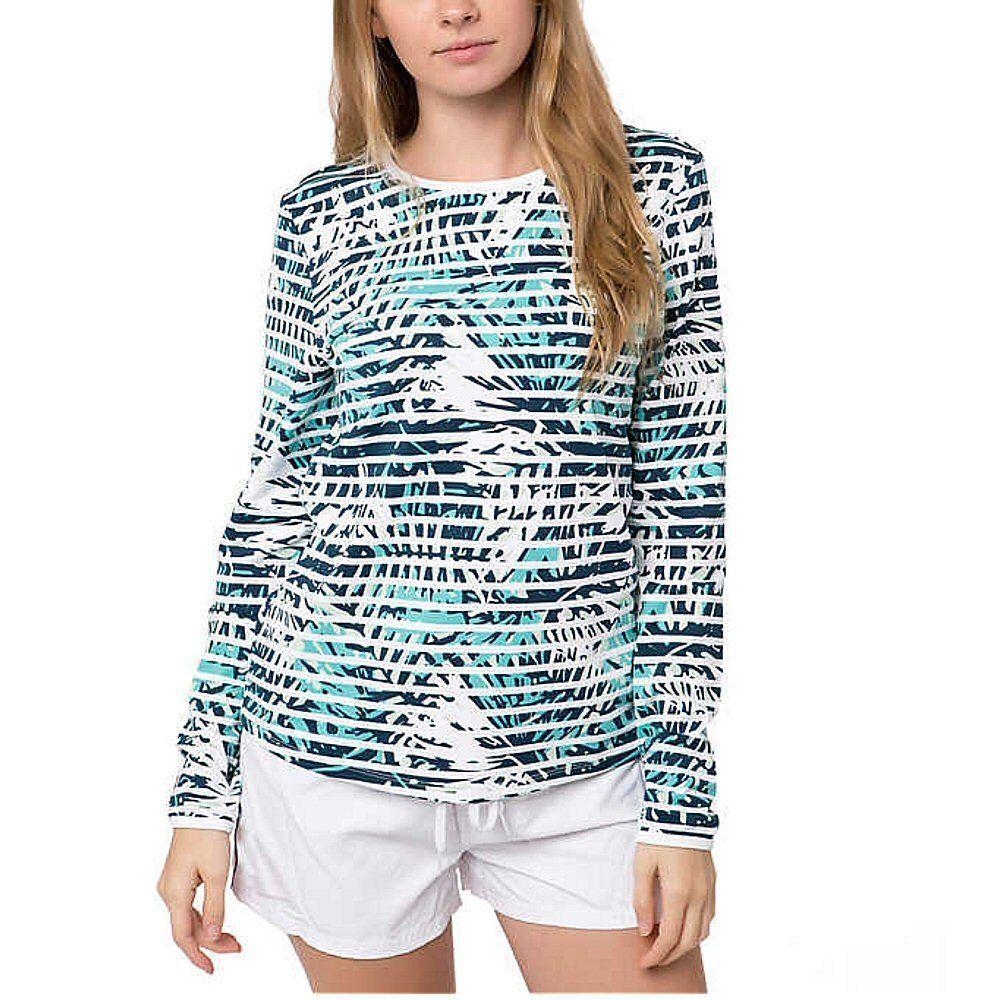 SALE Hang Ten Women's Long Sleeve Rash Guard Shirt VARIETY O