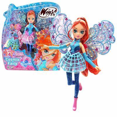 Bloom   Cosmix Fairy   Winx Club   Bambola con Ali Olografiche Mobili