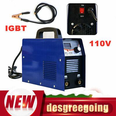 220v 110v Mini Electric Welding Machine Dc Inverter Igbt Arc Mma Stick Welder Us