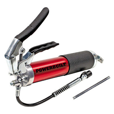 Powerbuilt 4,500 PSI Anodized Pistol Grip Heavy Duty Grease Gun - 940798