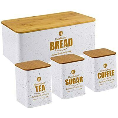 Bread Box For Kitchen Counter Stainless Steel Bin Storage Container For Loaves