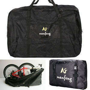 26'' Folding Bike Transportation Bag Carrier Storage 600D Hardwearing Waterproof