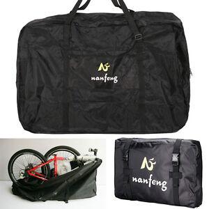 26'' Folding Bike Transportation Bag Carrier Storage 600D Hardwearing Waterproof