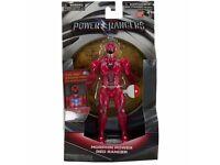 "Power Rangers Movie 7"" Action Figure - Morphin Power Red Ranger Lights Up NEW"