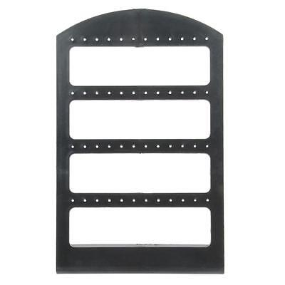 4 layer 48 Holes Earrings Jewelry Display Rack Stand Holder Organizer Show Black