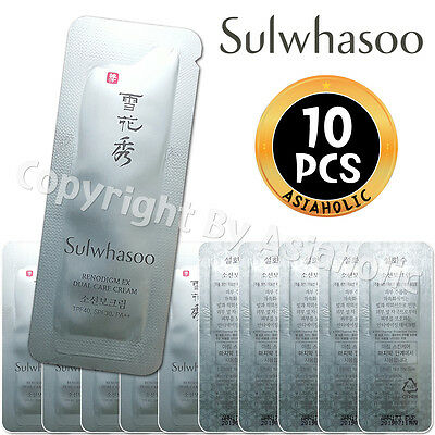 Sulwhasoo Renodigm EX Dual Care Cream 1ml x 10pcs (10ml) Sample AMORE PACIFIC