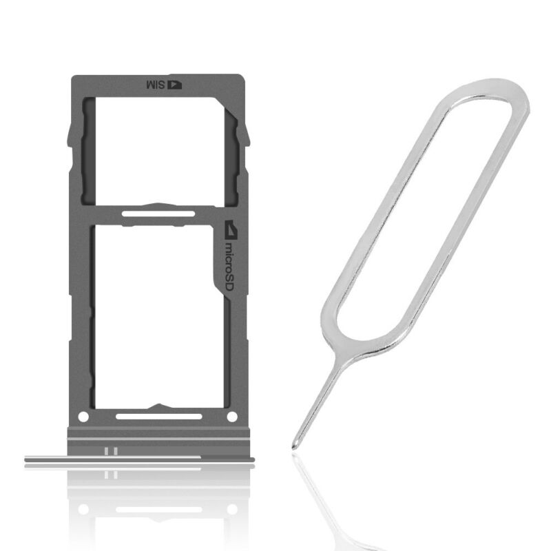 For Samsung Galaxy S10 SM-G973U SIM Card MicroSD Tray Holder Slot Replacement