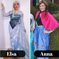 Disney Princess parties Elsa Anna Moana Elena