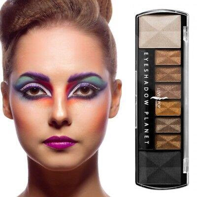 Lidschatten 8 Farben Bronze Make Up Eyeshadow Kosmetik - Make Up Palette