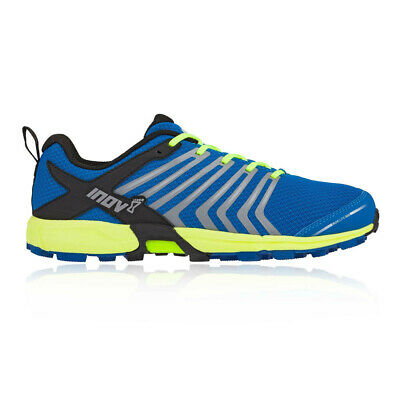 Inov8 Mens Roclite 300 Trail Running Shoes Trainers Sneakers Blue Yellow Sports