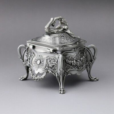 Vintage Design Tin Alloy Music Box ♫  CANON IN D ♫