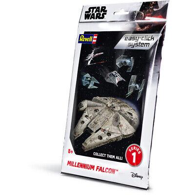 Revell Star Wars Easy-Click Millennium Falcon Model Kit (Scale 1:241) Falcon Easy Kit