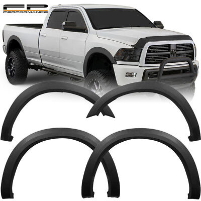 For 10-18 Dodge Ram WICKED Factory OE Style 2500 3500 Fender Flares Wheel Cover