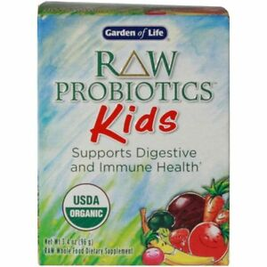 garden of life raw probiotics kids 3 4 oz 658010115698 ebay