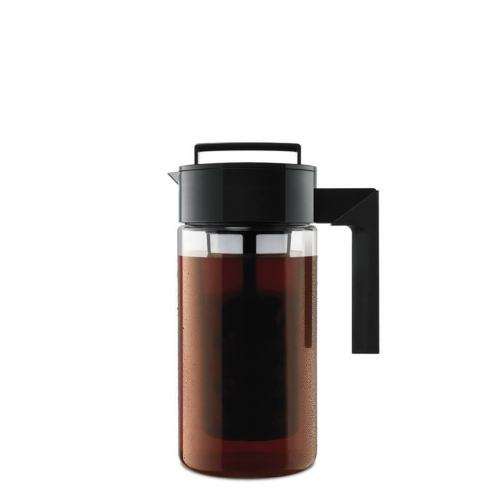 Takeya 10310 Patented Deluxe Cold Brew Iced Coffee Maker wit