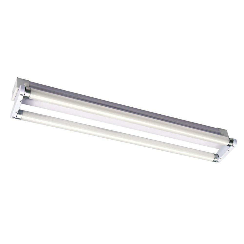 6ft fluorescent light fittings ebay. Black Bedroom Furniture Sets. Home Design Ideas