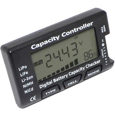 LiPo Tester V2 Batterie Battery Balancer Capacity Checker 1s-7s Li-Ion NiMH Nicd