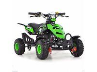 Kids Mini Quad Bike 50cc Petrol Quad 2 Stroke Midi ATV