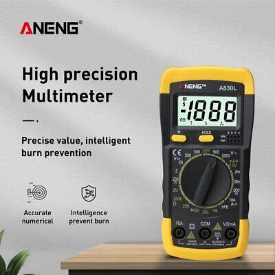 A830l Lcd Digital Multimeter 1999 Dc Ac Voltage Diode Freguency Test Multitester