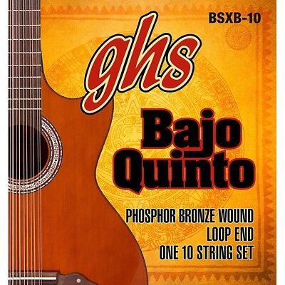 4-Str GHS 4L-RBB Pressurewound Bronze Rollerwound Phosphor Bronze Bass Strings