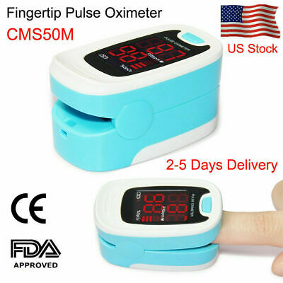 Fda Finger Tip Pulse Oximeter Spo2 And Pr Value Waveform Blood Oxygen Oxymeter