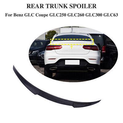für Mercedes W253 GLC Coupe 16-19 Carbon Spoiler Heckspoiler Abrisskante Lippe