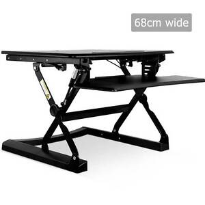 Height Adjustable Standing Desk 60CM - Black - delivered free Sydney City Inner Sydney Preview