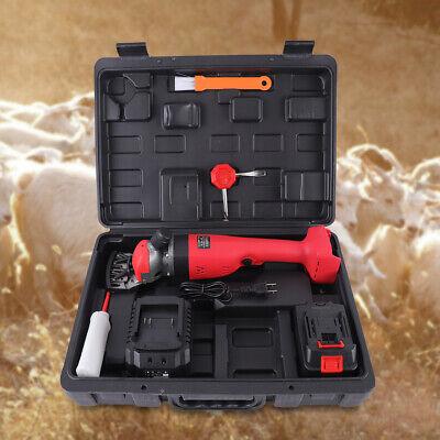 300w 18v Electric Shears Shearing Clipper Animal Sheep Goat Pet Farm Machine