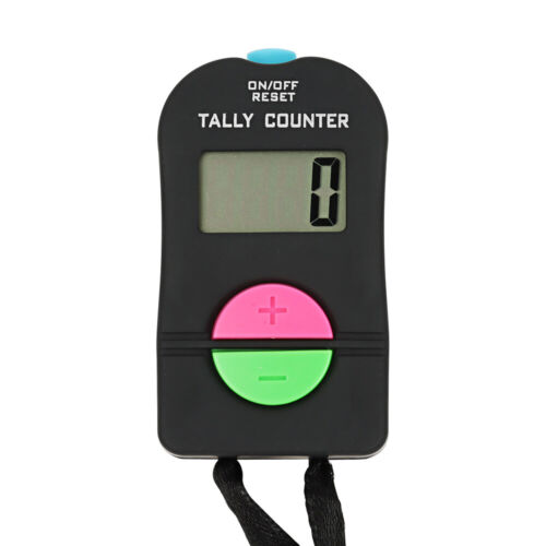 TOPTIE Electronic Hand Tally Counter 4-Digit Add Subtract Number Counter Clicker