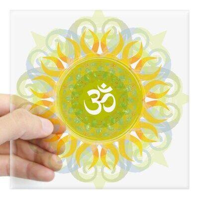 Home Decoration - CafePress Om Mandala Sticker Square Sticker  (1056132211)