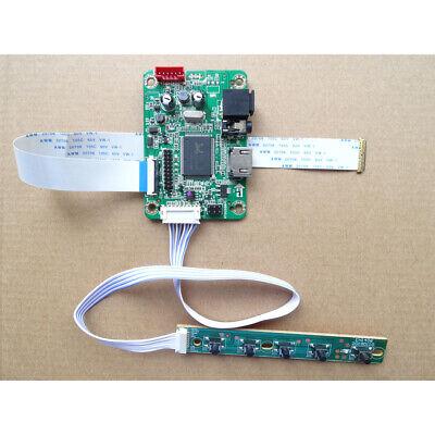 For N156BGE-E41/EA1 1366X768 HDMI LCD LED EDP mini Controller board kit DIY
