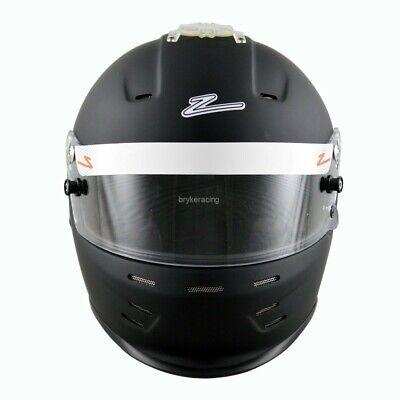 Zamp Helmet RZ-35 Snell SA2015 Matte Black Lg Large