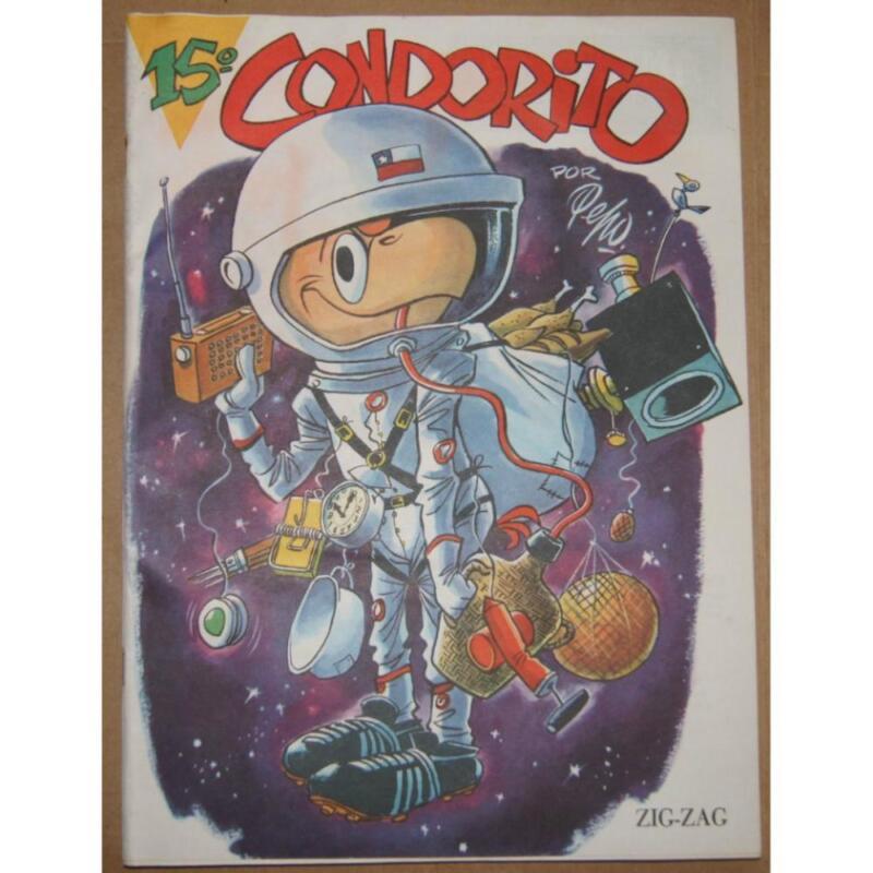 (Original) Condorito comic number 15.  Unused and very old.