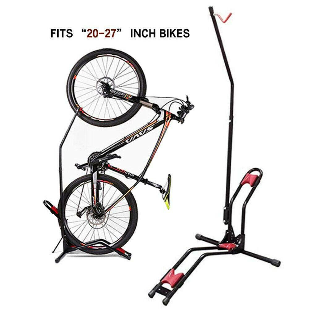 Bike Rack Upright Bicycle Storage Floor Stand Adjustable Bik