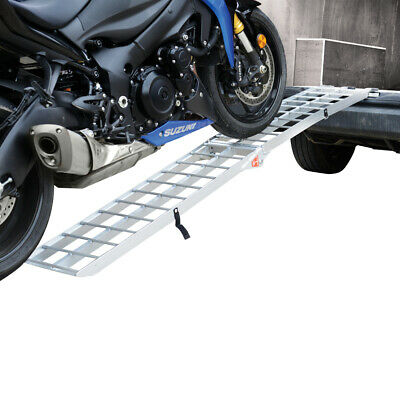 Oxford Moto Aluminio Plegable Carga Rampa OX748