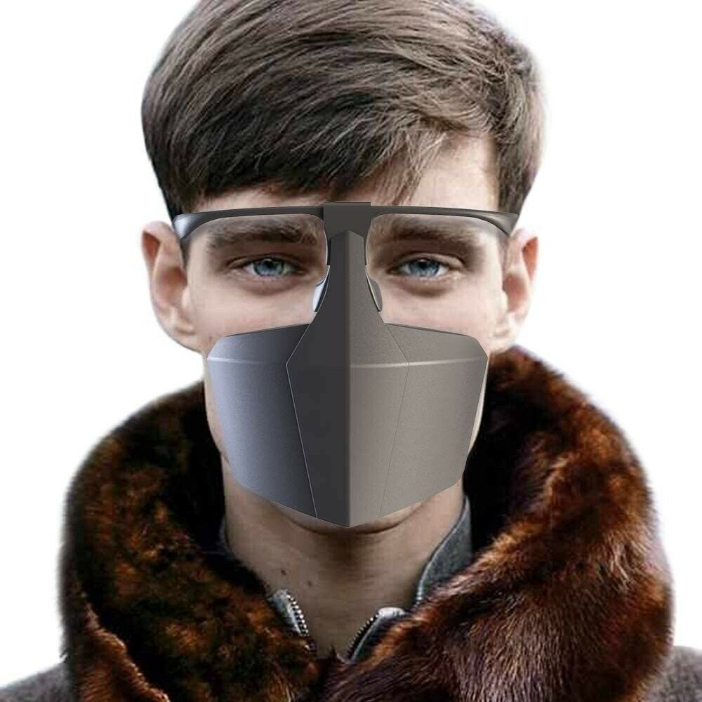 Face Protection Face Visor Protection Mouth Cover Dustproof Anti-fog droplets