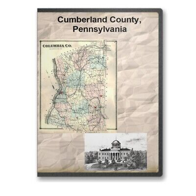 Cumberland County Pennsylvania PA History Culture Genealogy 9 Books - D381