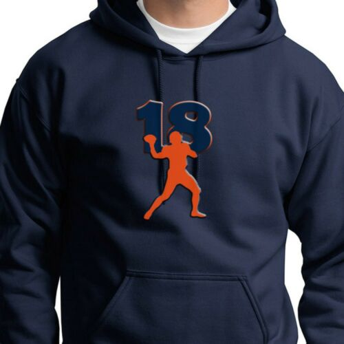 new arrival 7bd3f 7b3e8 Details about 18 PEYTON MANNING Superstar Jersey T-shirt Denver Broncos  Hoodie Sweatshirt