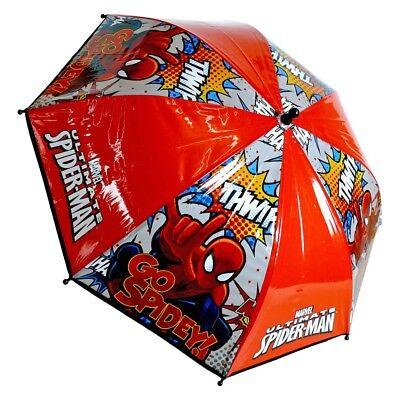 Regenschirm Kinder Schirm Marvel The ultimate Spiderman Superheld ()