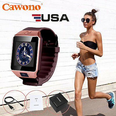 DZ09 Bluetooth Smart Examine Wrist Band GSM For Android iPhone Samsung HTC SONY LG