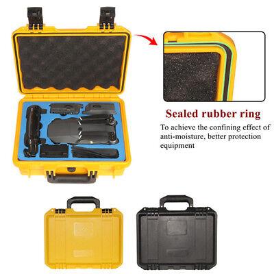 Dji Mavic Pro Drone Hard Shell Carrying Case Box Storage Waterproof Portable Usa