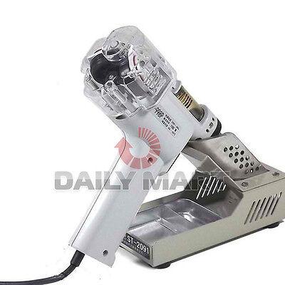 S-998p Electric De-soldering Gun Vacuum Pump Solder Sucker Ac220v 100w