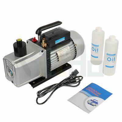 12cfm 1hp High Performance Rotary Vane Deep Vacuum Pump Hvac Field Tool 2 Stage